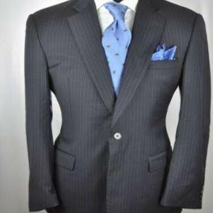 BURBERRY London Dark Navy Modern 2Btn Suit
